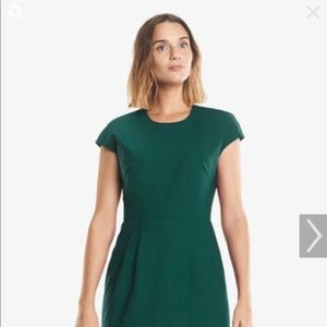 MM LaFleur Marsha dress size 10 viridian